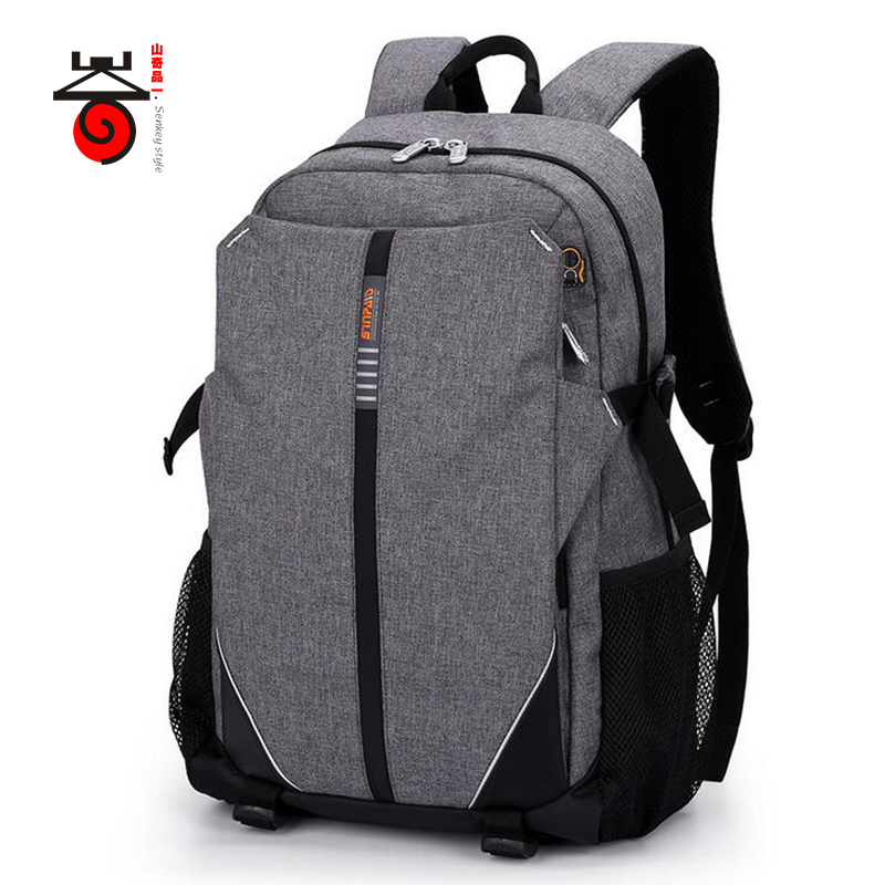 Senkey style Business Men Backpack Waterproof Oxford Students School Bags 15 6 Laptop Backpacks Women Men