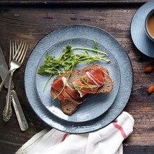 NIMITIME Ceramic Dinner Plates Dishes Porcelain Nordic Dinnerware Snacks Food Dinner Plate