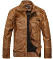 Chaqueta Jaqueta Couro Masculino Bomber Leather Jackets Men Coat Motorcycle Leather Jacket For Men