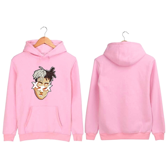 2018 XXXTentacion Hoodies Men/Women Casual Pullover Streetwear Sweatshirt Sudadera Hombre Harajuku Male Hood Crewneck 4XL