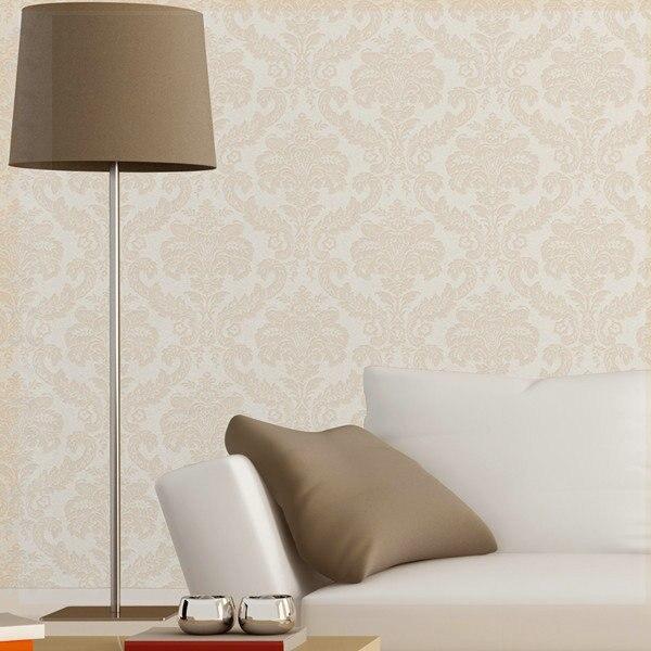 Francese in rilievo carta da parati camera da letto murale sfondo ...