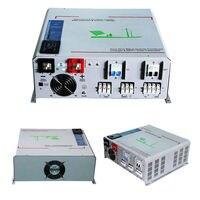 MAYLAR@ 48V 5000W Peak Power 10000W/15000VA Hybrid Power Inverter Built in 60A MPPT Controller, Output 220V/230V/240V LED Show