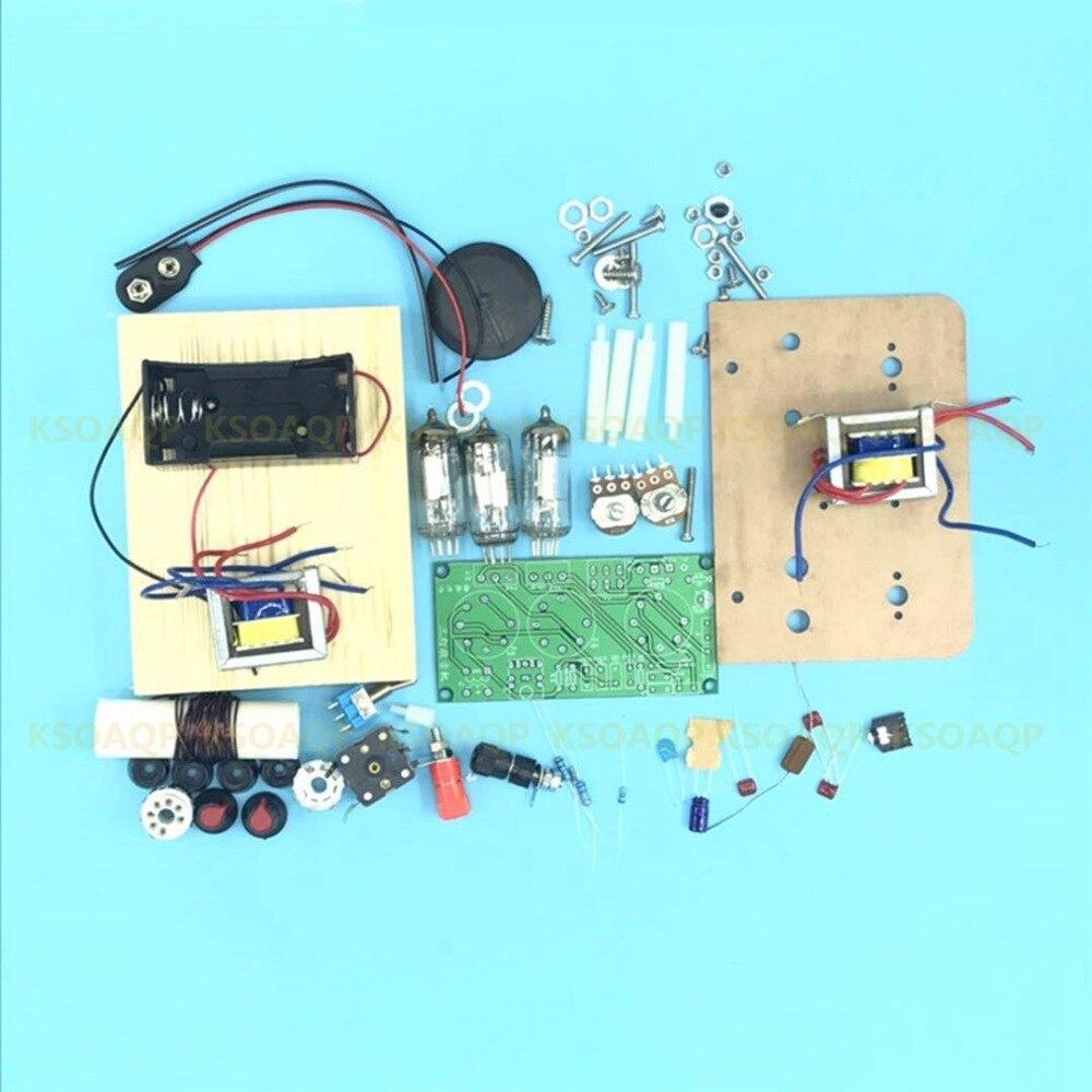 1PCS/LOT Five wave band three lamp tube medium wave radio