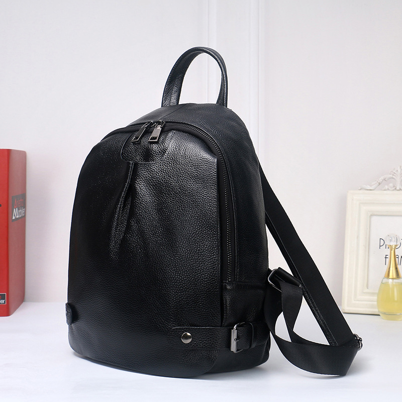 ZENCY 2019 Real Genuine Leather New Arrival Fashion Designer Luxury Famous Brands Women Backpack Soft Cowhide School IPad Bag