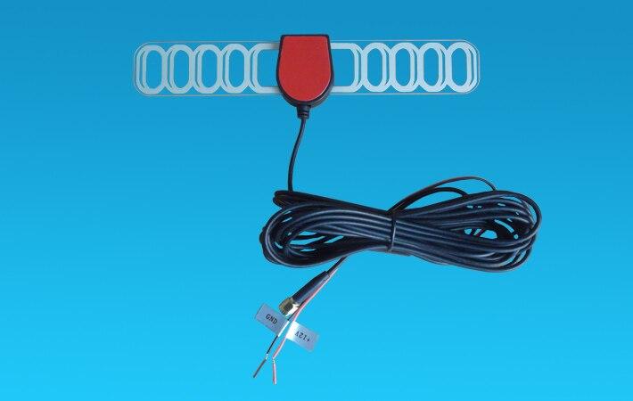 5 метров Автомобильная DVB-T2 ISDB-T DVB-T цифровая ТВ Активная антенна с SMA разъемом, усилитель, автомобиль телевизор в машину антенна