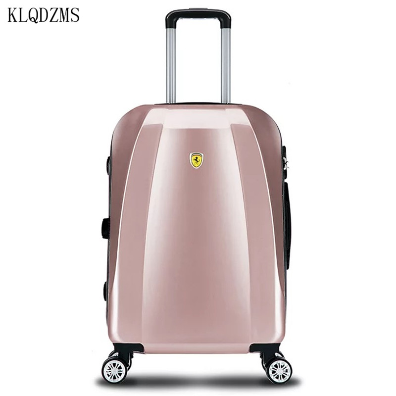 KLQDZMS 20/22/24/26inch High Capacity  Rolling Luggage Spinner Men Women Cabin Trolley Travel Suitcase On Wheels