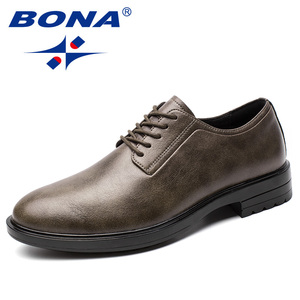Image 3 - BONA New Arrival Classics Style Men Formal Shoes Microfiber Men Dress Shoes Lace Up Male Office Shoes Comfort Free Shipping