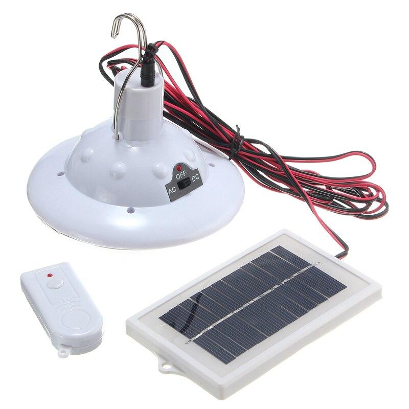 jardim interior iluminação emergência controle remoto lâmpadas solares