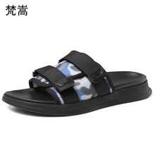 slippers men 2019 new summer personality outdoor beach sandals Korean fashion flip flops