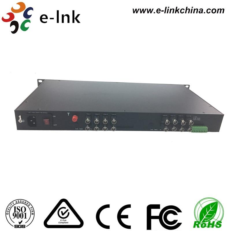 Transceptor da fibra de 16Ch AHD CVI TVI para a câmera de HD - Equipamento de comunicação - Foto 3
