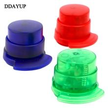 Mini Portable Stapleless Stapler Paper Binding Binder Paperclip School Accessories Supplies