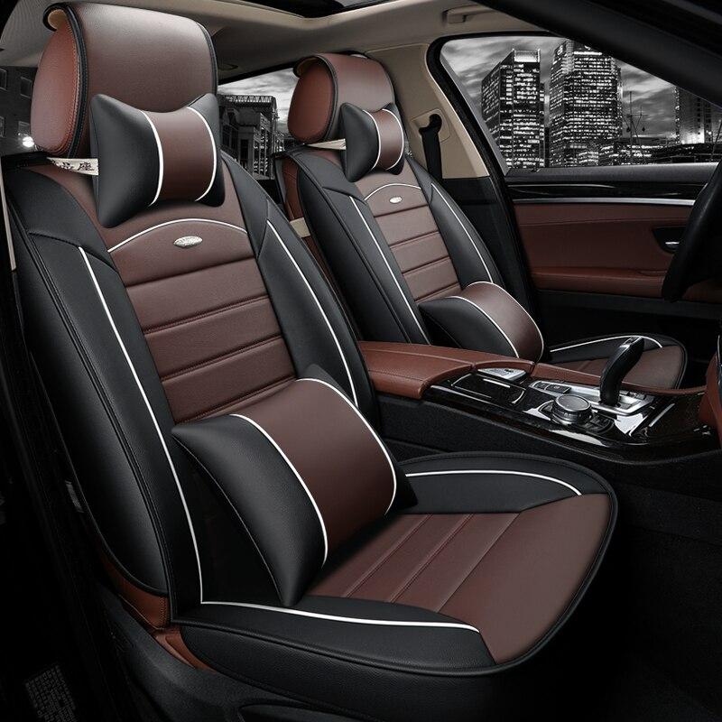 Siège de voiture cover set Pour seat cordoba daewoo nexia subaru impreza mercedes w212 auto accessoires de voiture-voiture de style sièges protecteur