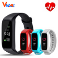 Vwar L30t Bluetooth Smart Bracelet Heart Rate Monitor Full color TFT-LCD Screen Fitness Tracker Smart Band VS xiaomi mi band 2
