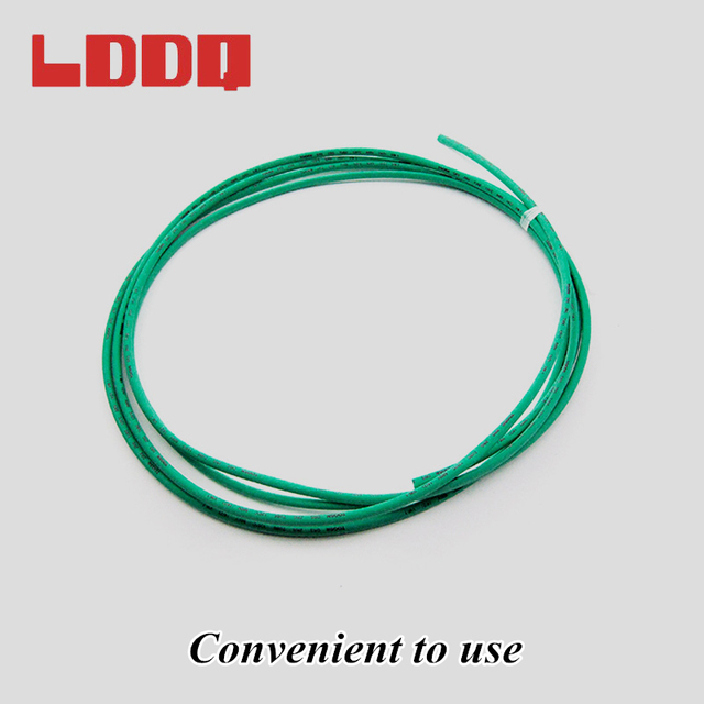 LDDQ 10m Heat Shrink Tubing 3mm PE Shrinkable Tube Black White Transparent Red Green Yellow Blue 2:1 Electric Wire Cable Tubing