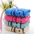 35*75CM 5 New Cute Cartoon Animals Baby Towel Bath Towel  Microfiber Absorbent Drying Washcloth Baby Towel Boy Girls Beach Towel