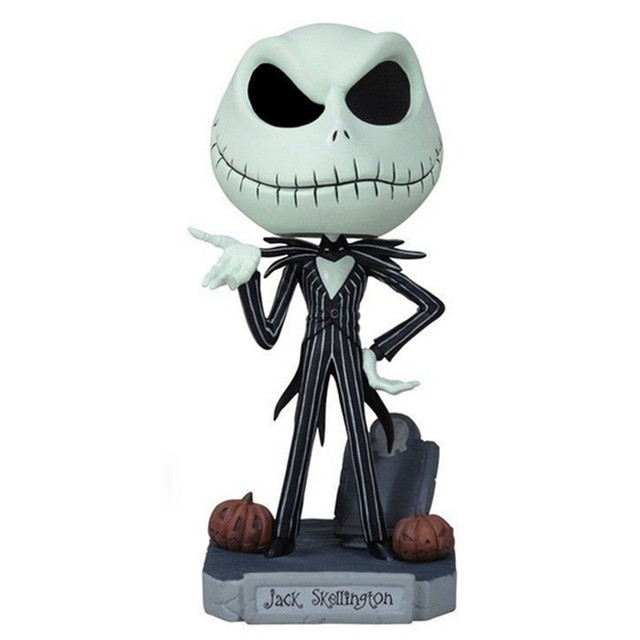 the nightmare before christmas action figure toys jack skellington pvc collectible model toy 16cm - Nightmare Before Christmas Action Figures