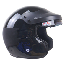 Car helmet Open face motorcycle helmet Snell helmet DD ring buckle STG Fire retardant motorcycle helmet Fiberglass Shell