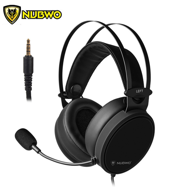 US $19 79 34% OFF|NUBWO N7 PS4 Headset Best Gamer casque Stereo Gaming  Headphones with Mic for PC/New Xbox One/Laptop/Nintendo Switch-in