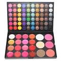 82 Color Eyeshadow Palette Kit Makeup Set 60 Eyeshadow 16 Lip Gloss 3 Blusher 3 Contour Powder Eye shadow Make up
