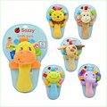 1 pcs sozzy musical bebê de pelúcia chocalhos infantil baby toys chocalhos de brinquedo bonito para o bebê animal plush toys bene