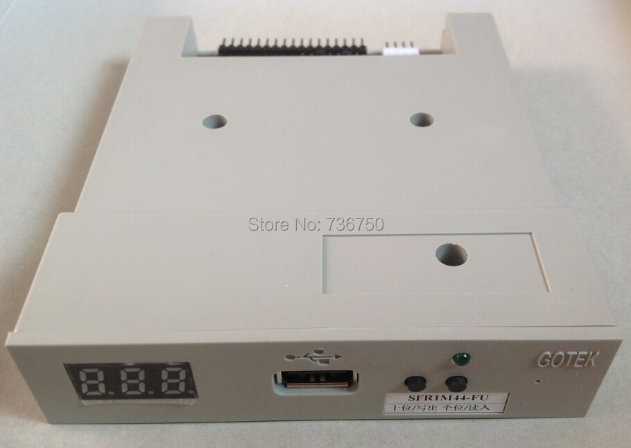 SFR1M44 FU 100% echt Gotek Floppy USB drive floppy emulator reader lector voor Tajima SWF Gelukkig Brother borduurmachines-in Naai Hulpmiddelen & Accessoires van Huis & Tuin op  Groep 1