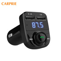1PC Bluetooth Car Kit MP3 Player FM Transmitter Wireless Radio Adapter USB Charger