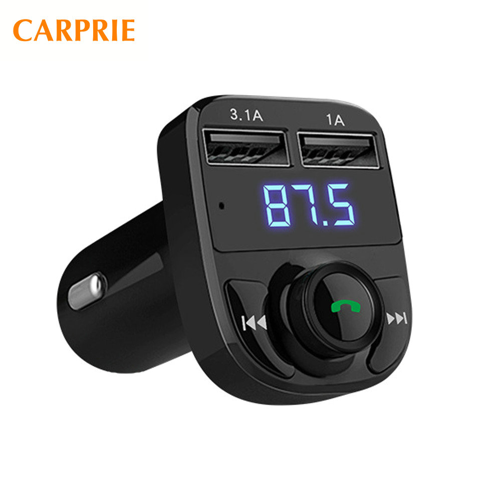 2017 New Arrival Hot Sale 1PC 12~24V Bluetooth Car Kit MP3 Player FM Transmitter Wireless Radio Adapter USB Charger DropShipping multi functional bluetooth car kit wireless fm transmitter