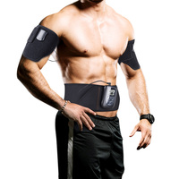 DOMAS Electronic Muscle Stimulator Ab Belt For Abdominal Muscle Toning And Arm Thigh Belt