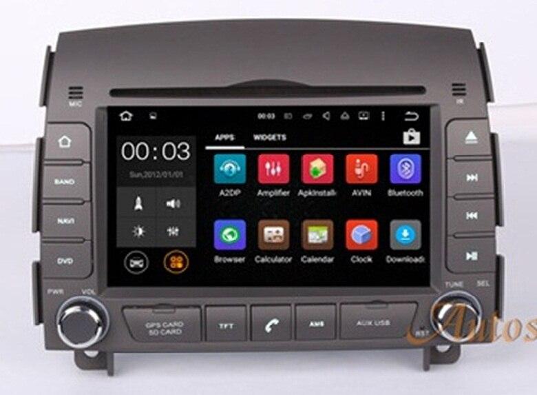 Android 7.1 Quad Core Lecteur DVD de Voiture GPS Auto Navigation Radio Stéréo pour HYUNDAI SONATA NF YU XIANG 2004- 2008 Voiture Unité Modèle 80