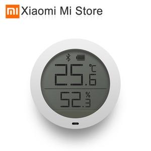 Image 1 - Xiao mi mi jia temperatura e hu mi difier inteligente monitor interno bluetooth mi casa app controle ar condicionado ventilador hu mi difier