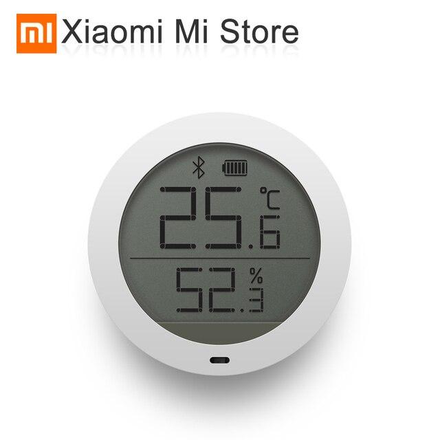Xiao mi mi jia temperatura e hu mi difier inteligente monitor interno bluetooth mi casa app controle ar condicionado ventilador hu mi difier