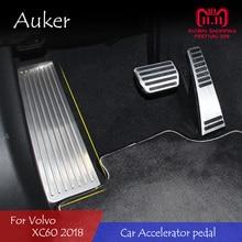 Для Volvo XC60 LHD акселератор Тормозная педаль подножка пластина сцепления дроссельной заслонки ремонт стайлинга автомобилей