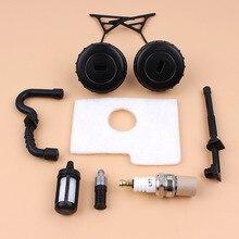 Кепки воздушный шланг топливного фильтра комплект для STIHL MS180 MS170 MS 180 170 018 017 бензопила Запчасти
