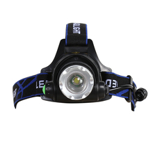 Waterproof 18650 Rechargeable Zoom Battery Led Head Lamp for Outdoor Bicycle Camping Hiking Light
