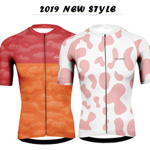 Maillot 2019 Runchtia cycling jersey summer short sleeve mtb  Anti-sweat bretelle ciclismo man maillot hombre