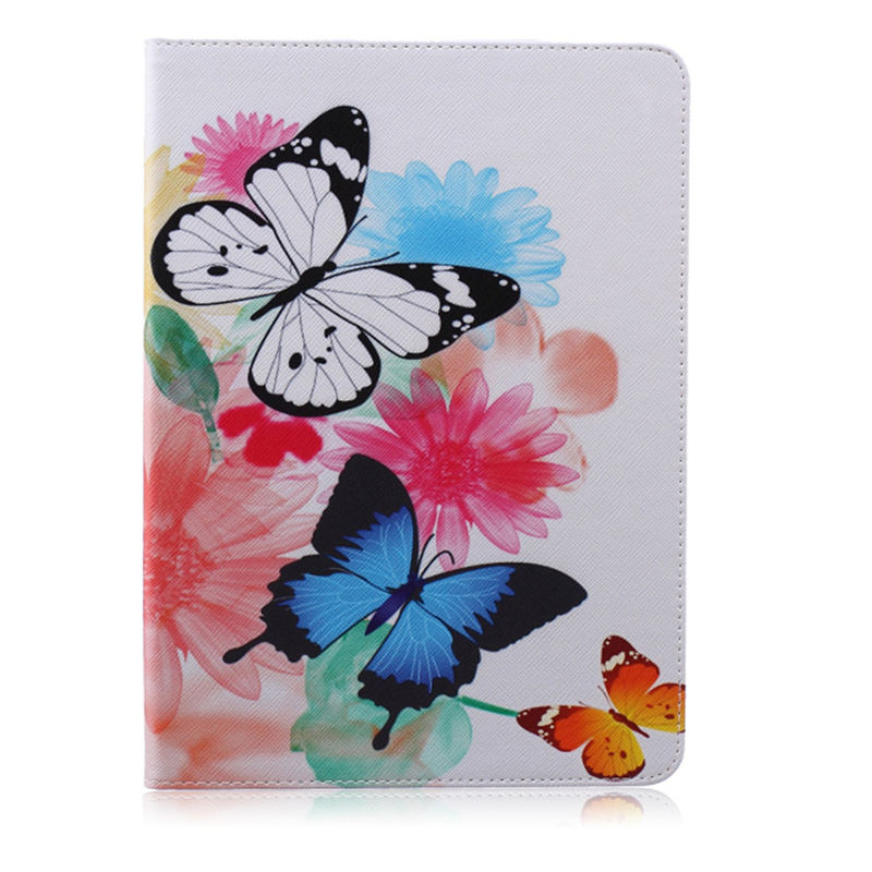 Case For Samsung Galaxy Tab S T800 T805 10.5 Inch, Fashion Owl Tree Painted Flip PU Leather Cover For Galaxy SM-T800 T805 Tablet