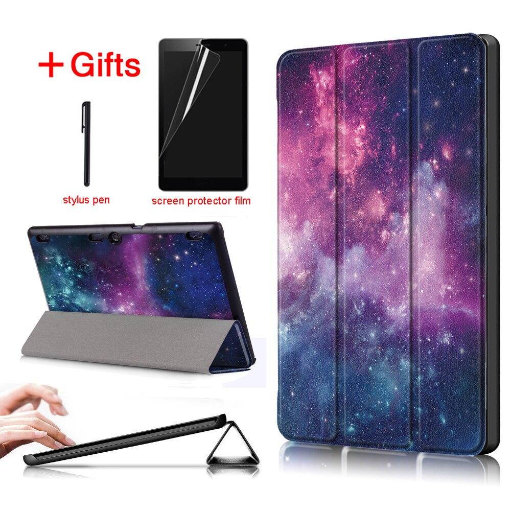 Ultra delgado soporte cubierta de la caja para Lenovo tab 10 TB-X103F Tab 2 A10-70 Tab 2 A10-30 Tab3 10 Plus Tab3 10 Business Tablet caso