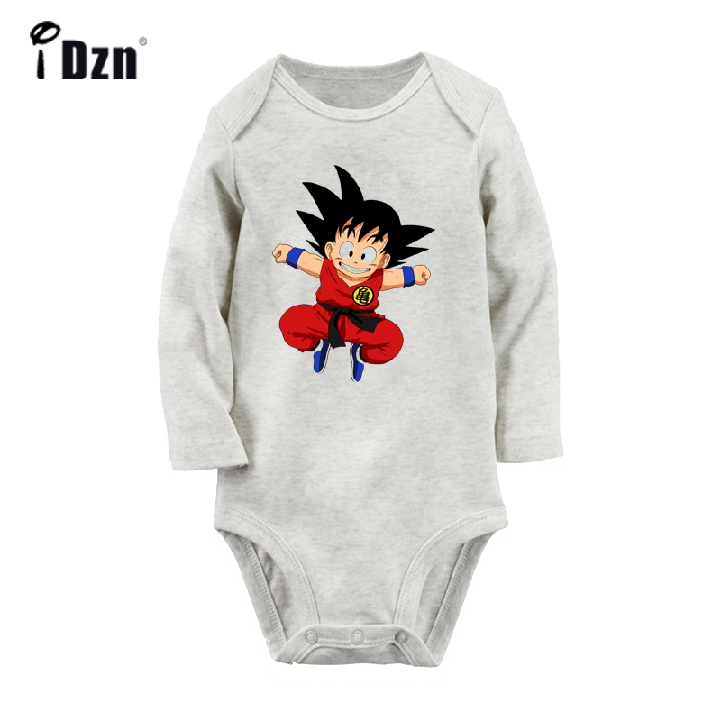 Dragon Ball Z Kid Goku infant Baby One PIECE Bodysuit Romper Jumpsuit