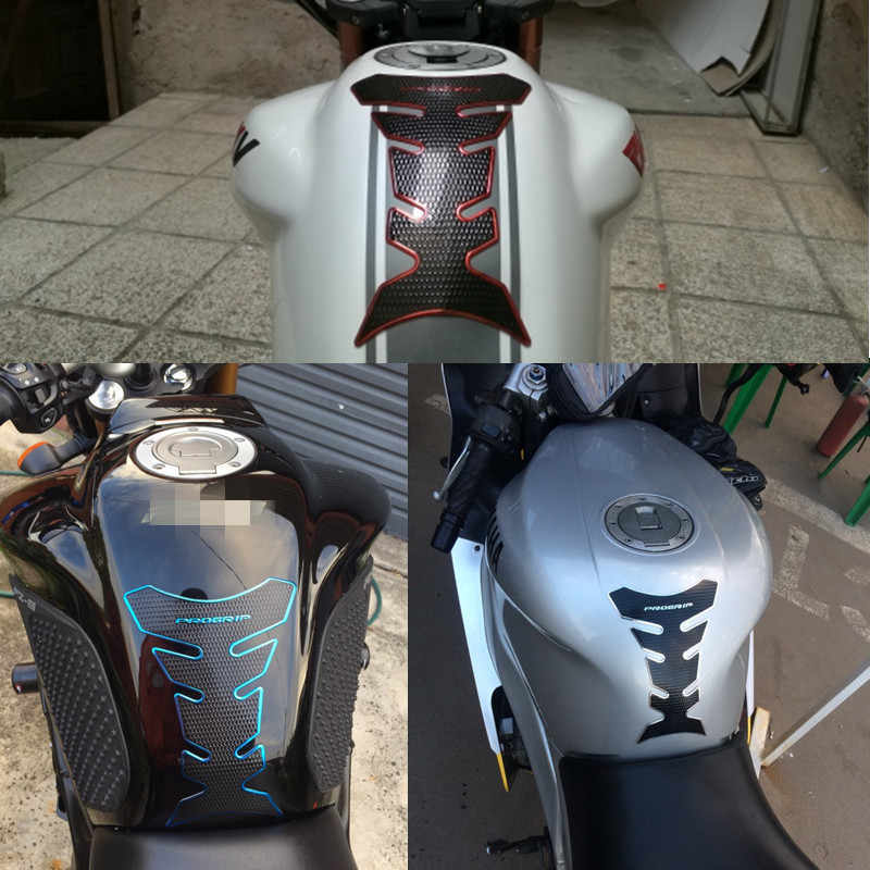 Keren Stiker Bahan Bakar Gas Tank Pad Pelindung Sepeda Motor Sticker Case untuk HONDA CBR Kawasaki Yamaha Suzuki Ducati BMW KTM