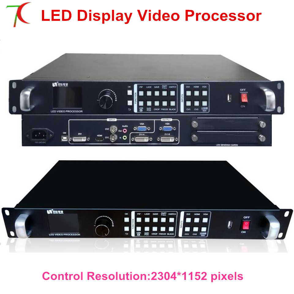 Processore Video LINTEN-VP1000 widly usefor P1.667/P1.875/P1.904/P1.923/P2/P2.5/P3/P4 /P5/P6/P7.62/P8/P10 schermo a led