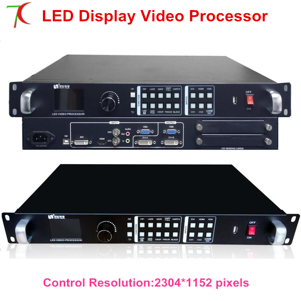 Video Processor LINTEN-VP1000 Widly Usefor P1.667/P1.875/P1.904/P1.923/P2/P2.5/P3/P4/P5/P6/P7.62/P8/P10 Led Screen