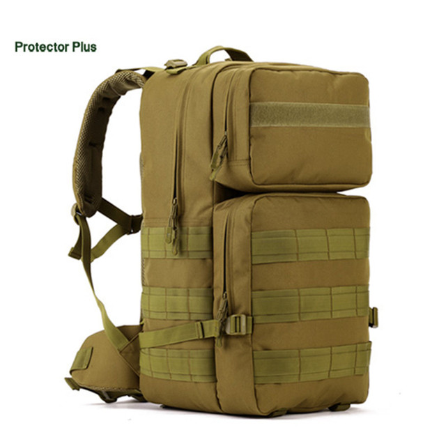 Large backpack backpack 50 litres military enthusiasts travel waterproof backpack Men wear-resisting  backpack