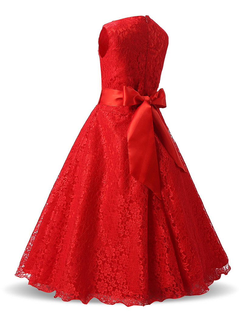 Großzügig Rotes Partykleid Für Kinder Und Jugendliche Zeitgenössisch ...