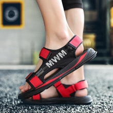 Hot Sale Brand Sandals Canvas Wading Soft Men Casual Shoes Light Weight Beach Breathable Summer Walking Hollow