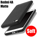 With Track SLEVE Matte TPU Shield Anti Knock Soft Silicon Cover for xiaomi redmi 4a Case Snapdragon 425 2G+16G