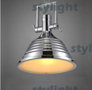 MARITIME PENDANT POLISHED PENDANT vintage lighting fixture industry style loft light illuminate your kitchen workplace