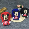 New Brand Summer Big Ear Mouse Cartoon Mickey Baseball Cap SFor Men Women Gorra Cute Mouse Hip Hop Caps Casquette Hat HT-120