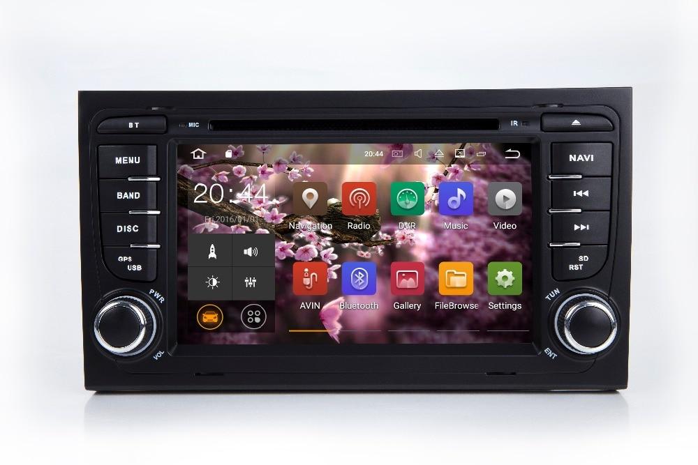 IPS écran android 8.1 DVD de voiture pour Audi A4 B6 B7 S4 2002 2003 2004 2005 2006 2007 2008 autoradio gps navigation stéréo headunit