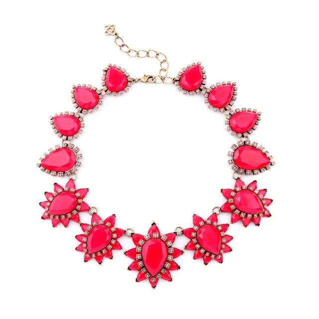 Accessories Valentine Day Major Suit Hot Jewelry Friendly Retro Yellow Flower Fine Jewelry Power Necklace