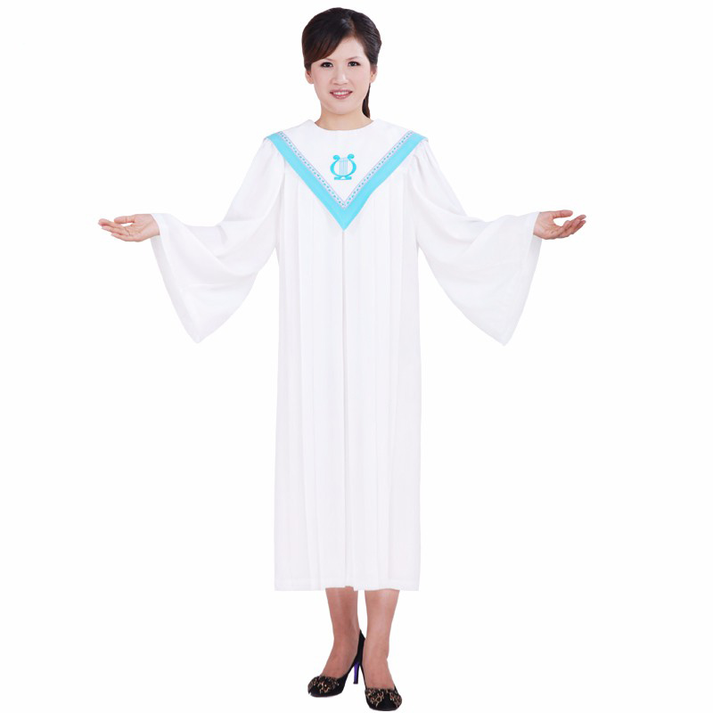 Christian Church Gospel Choir Robe Gown Clothing TIMELESS Women America And Europe Nun Sing Wear